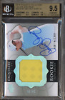 2014 EXQUISITE SILVER RORY MCILROY AUTO PATCH RC BGS 9.5 W 10 # 25 POP 5