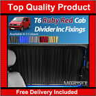 VW VOLKSWAGEN T6 Transporter 2015 RUBY RED Tailored Curtain Cab Divider
