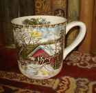 Johnson Brothers Coffee Mug THE FRIENDLY VILLAGE Covered Bridge Made in England