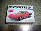 Monogram 1965 Corvette box created in 1/8 scale for Diorama, or Collecting. Red