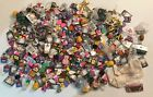 CRAFT SUPPLY LOT OVER 5 POUNDS OF RESIN PIECES AND ASST CRAFT PIECES