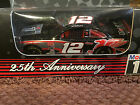 1999 MOBIL ONE 25TH ANNIVERSARY TEAM CALIBER #12 JEREMY MAYFIELD 1:64 STOCK CAR