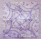 CLEARANCE 15 7 square LAVENDERWHITE CHINA Kaleidoscope Quilt BlocksSEWN