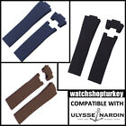 New 25 mm  Ulysse Nardin Marine Diver Watch Compatible Watch Strap Band
