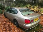 LEXUS GS300 SPARES OR REPAIRS 2JZ ENGINE DRIFT PROJECT