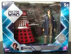 Doctor Who 8th Doctor  Alpha Dalek Exclusive Twin Pack Brand New Rare UK