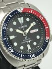 Seiko Mens Air Prospex Stainless Steel Black R/B Diver's Automatic Watch SRPA85