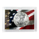 1996 1 American Silver Eagle HE Harris Holder Flag Design
