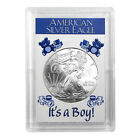 2009 1 American Silver Eagle HE Harris Holder Its A Boy Design