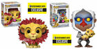 Funko Pop Lion King Flocked Set Rafiki w Baby & Simba w Leaf Mane EE Exclusive