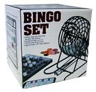 Complete BINGO Game Set Kit Machine Family Party Games Cards Balls