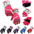 New Kids Waterproof Anti slip Outdoor Sports Warm Thermal Ski Snow Gloves Winter
