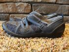 CLARKS Privo Leather Blue Slip On Shoes Size 7