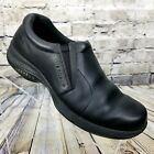 Merrell 60132 Topo Moc Pro Black Leather Loafers Casual Shoes Womens Sz 95