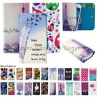 For Philips Xenium X596 Wallet Bag Flip Case Cover Love Heart Windbell Gift Tree
