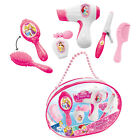 Disney Princess Beauty Set Fön Bürste Prinzessinnen Spielzeug Set Kinder Tasche