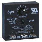 SUPCO TD69 TIME DELAY ON MAKE TIME DELAY ON MAKE| Compact and  Easy To Install