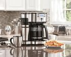 12 Cup Coffee Maker Full Pot Single Serve Brewer Dorm Home Office Programmable