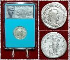 ANCIENT COIN Philip I The Arab Silver Antoninianus Annona On Reverse