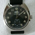 Vintage BWC Buttes Watch 1970 era Swiss Military Style