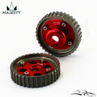 Aluminum Cam Gears Pulley Pair For Toyota Levin 4AGE 20V AE101 AE111 Red