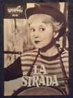 La Strada Original Program Federico Fellini GiuliettaMasina Anthony Quinn