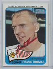 2014 TOPPS HERITAGE REAL ONE RED AUTOGRAPH ROA-FT, FRANK THOMAS, 63 65