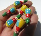 Gorgeous German Girl Doll Buttons Realistic Goofies Hand Paint 6