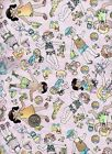 Childrens Quilt Fabric Wee Kids Possibilities Nancy Smith Avlyn OOP BTHY