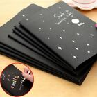 56K Black Paper Notebook Sketch Book Diary For Drawing Painting Graffiti 60 page