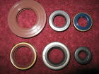 430 Husky Automatic Engine Seal Set w/ Viton Main Seals 1985-1988 Husqvarna Auto