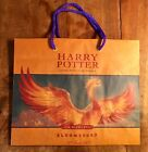 Harry Potter Half Blood Prince 1st Edition  rare Bloomsbury Phoenix promo bag