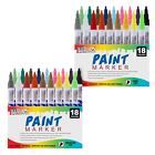 36 Color Set of Oil Based Paint Pen Markers Medium  Fine Point Tips Permanent
