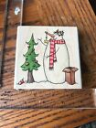 Whipper snapper designs Rubber Stamp snowman box ornaments decorating tree
