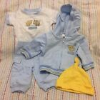 NWOT Carters Just One Year newborn 0 3 months boys 4 pc outfit
