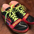 Brooks Track Running Sprint Series Athletic Sneakers Yellow Pink Sz 9 Cleat