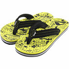 Reef Ahi Youth Sandal Black Yellow ActionSports