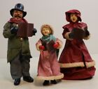 Clothtique Possible Dreams Victorian Carolers Trio Christmas Figures