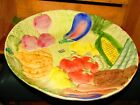 ADORABLE 1996 FITZ AND FLOYD VEGETABLE GARDEN SERVING BOWL-GREAT CONDITION !!