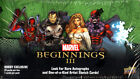 2012 UD MARVEL BEGINNINGS 3 III TRADING CARD Factory SEALED hobby BOX