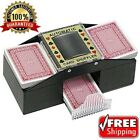 Automatic Card Shuffler 1 2 Deck Standard  Bridge Sized Casino Poker Black Jack