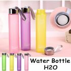 Plastic Travel Eco Friendly Water 5 Colors Sports Cup Portable Bottle Cups Scrub