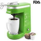 CHULUX Single Serve Coffee Maker with Removable Drip Tray for K-Cup,Green