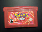 Pokemon FireRed Fire Red Version Nintendo Game Boy Advance GBA SP NEW