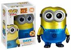 Funko Pop Minion Dave SDCC 2013 Exclusive Despicable Me 2 Limited metalic