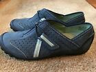 Clarks Privo New Womens Blue Leather Shoes Sz 71 2M 39