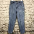 Vtg Mens Gitano Blue Jeans Wasted Destroyed Trashed Light Denim Wash Pants 34X31