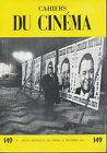 CAHIERS DU CINEMA Nov 1963 No 149 French language French New Wave