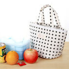 Thermal Insulated Lunch Box Cooler Bag Tote Bento Pouch Lunch Container
