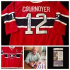 Yvan Cournoyer Montreal Canadiens Signed Autograph NHL Hockey Jersey JSA L20666